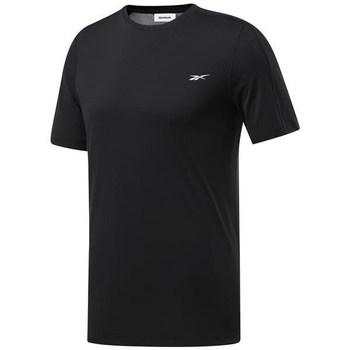 Ruhák Férfi Rövid ujjú pólók Reebok Sport Wor Comm Tech Tee Fekete