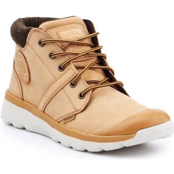 Cipők Férfi Magas szárú edzőcipők Palladium Manufacture Pallaville HI Cuff L Bézs