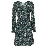 Ruhák Női Rövid ruhák Naf Naf LEO R1 Leo / Fekete  / Zöld