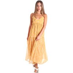 Ruhák Női Hosszú ruhák Fracomina FR20SMLINDA Sárga