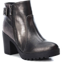 Cipők Női Bokacsizmák Xti 48608 PLOMO Gris oscuro