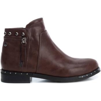 Cipők Női Bokacsizmák Xti 49378 MARRON Marrón