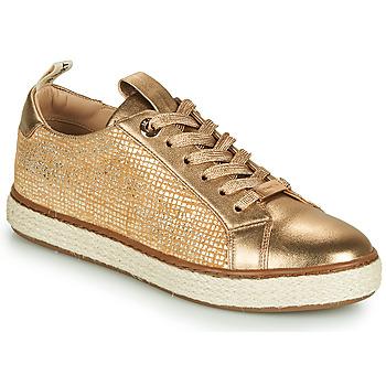 Cipők Lány Rövid szárú edzőcipők JB Martin 1INAYA Arany