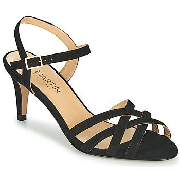 Cipők Női Balerina cipők  JB Martin PIRIA Fekete