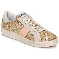 Cipők Női Rövid szárú edzőcipők Meline NKC1381 Arany