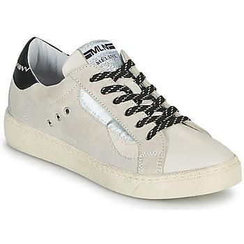 Cipők Női Rövid szárú edzőcipők Meline CAR139 Bézs / Fekete