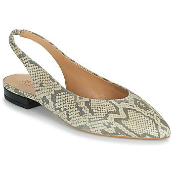 Cipők Női Balerina cipők  JB Martin VELANI Fehér / Fekete