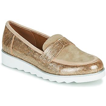 Cipők Női Mokkaszínek Sweet BETOUN Arany