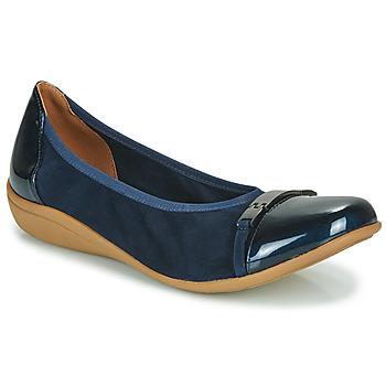 Cipők Női Balerina cipők  Sweet CLAMS Tengerész