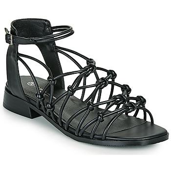 Cipők Női Szandálok / Saruk The Divine Factory LS1793H Fekete