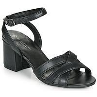 Cipők Női Szandálok / Saruk The Divine Factory LS2115 Fekete