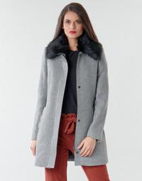Ruhák Női Kabátok Naf Naf AROUSSA Szürke