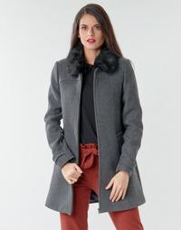 Ruhák Női Kabátok Naf Naf AZAZOU M1 Szürke