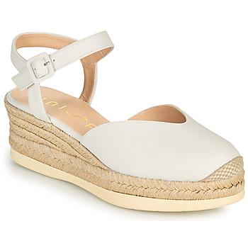 Cipők Női Szandálok / Saruk Unisa CEINOS Fehér