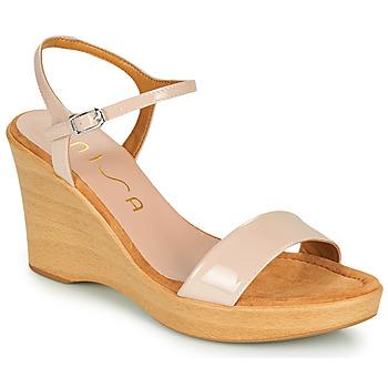 Cipők Női Szandálok / Saruk Unisa RITA Rózsaszín