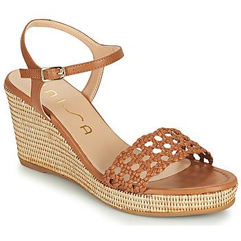 Cipők Női Szandálok / Saruk Unisa LOBI Teve