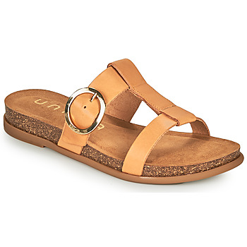Cipők Női Papucsok Unisa CIVETA Teve