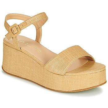 Cipők Női Szandálok / Saruk Unisa LAIKI Bézs