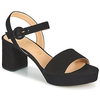 Cipők Női Szandálok / Saruk Unisa NENES Fekete
