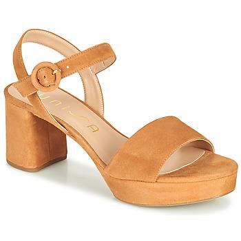 Cipők Női Szandálok / Saruk Unisa NENES Teve