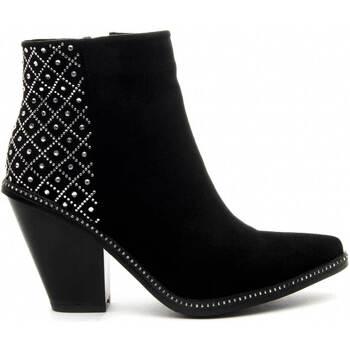 Cipők Női Bokacsizmák Azarey 68728 BLACK