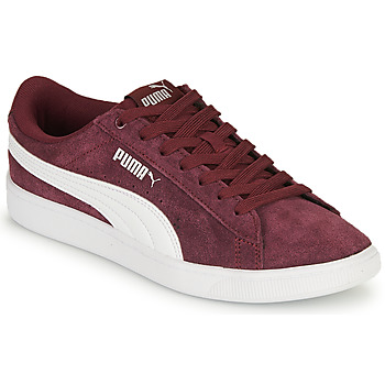 Cipők Női Rövid szárú edzőcipők Puma VIKKY Bordó