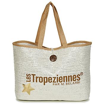 Táskák Női Bevásárló szatyrok / Bevásárló táskák Les Tropéziennes par M Belarbi PANAMA Bézs