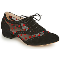 Cipők Női Bokacipők Fericelli ABIAJE Fekete  / Piros
