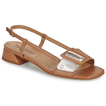 Cipők Női Szandálok / Saruk Fericelli PANILA Teve / Arany