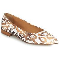 Cipők Női Balerina cipők  Fericelli SELENA Fehér / Arany