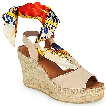 Cipők Női Szandálok / Saruk Fericelli SERRAJE Bézs