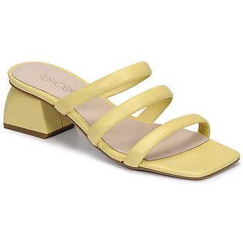 Cipők Női Papucsok Fericelli TIBET Citromsárga