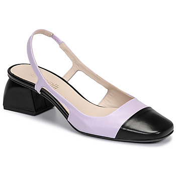 Cipők Női Félcipők Fericelli TOUBET Lila / Fekete