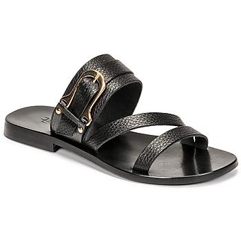 Cipők Női Szandálok / Saruk Fericelli STAMP Fekete