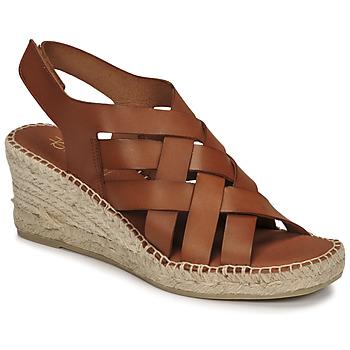 Cipők Női Szandálok / Saruk Fericelli ODALUMY Teve