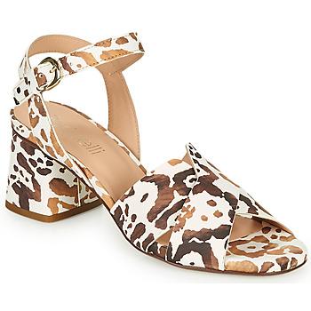 Cipők Női Szandálok / Saruk Fericelli ONAPA Bézs / Arany