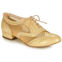 Cipők Női Bokacipők Fericelli ABIAJE Citromsárga
