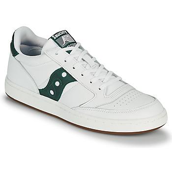 Cipők Férfi Rövid szárú edzőcipők Saucony JAZZ COURT Fehér / Zöld