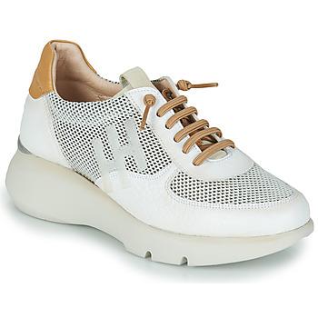 Cipők Női Rövid szárú edzőcipők Hispanitas TELMA Fehér / Arany