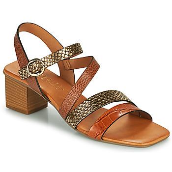 Cipők Női Szandálok / Saruk Hispanitas OLGA Barna / Bronz