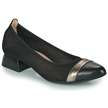 Cipők Női Félcipők Hispanitas ADEL Fekete  / Ezüst