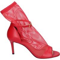 Cipők Női Szandálok / Saruk Stephen Good Sandali Pelle Tessuto Rosso