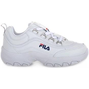 Cipők Gyerek Rövid szárú edzőcipők Fila Strada Low Junior Fehér