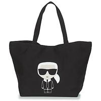 Táskák Női Bevásárló szatyrok / Bevásárló táskák Karl Lagerfeld K/IKONIK KARL TOTE Fekete