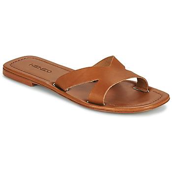 Cipők Női Papucsok Kenzo OPANKA Konyak
