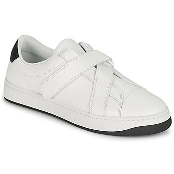 Cipők Női Rövid szárú edzőcipők Kenzo ENZO KOURT SCRATCH SNEAKERS Fehér