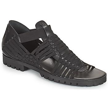 Cipők Női Szandálok / Saruk Kenzo GREEK FLAT SANDALS Fekete