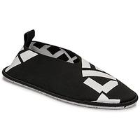 Cipők Női Balerina cipők  Kenzo K-KNIT SLIP-ON RECYCLED KNIT Fekete