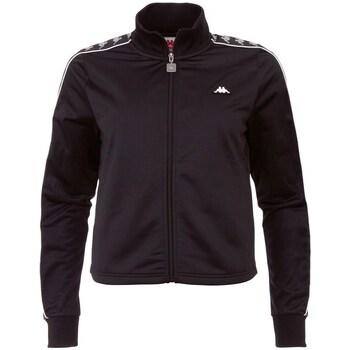 Ruhák Férfi Melegítő kabátok Kappa Hasina Fekete