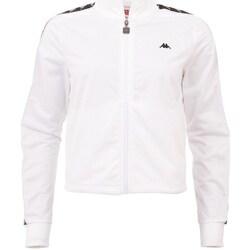 Ruhák Férfi Melegítő kabátok Kappa Hasina Fehér